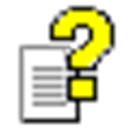 Microsoft HTML Help Icon