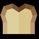 Material Bread Icon